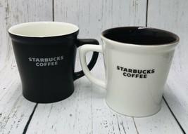 Starbucks 2009 New Bone China & 2008 Brown 16 oz Coffee Tea Mug For Him & Her - $39.60