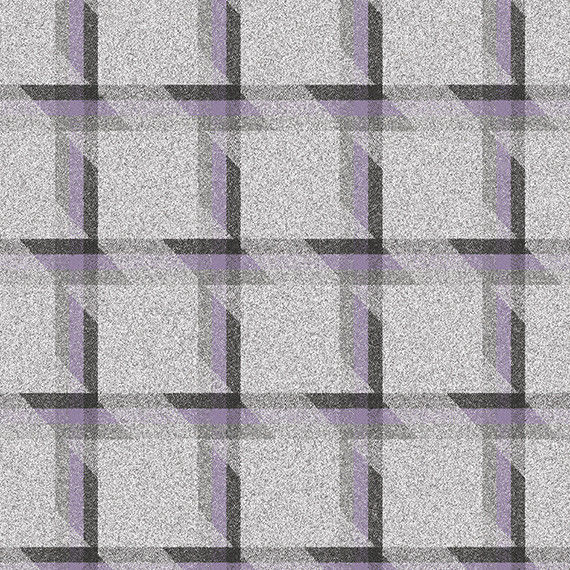13.125 yds Camira Upholstery Fabric Balance Plaid Wool Align Purple LDB05 FE