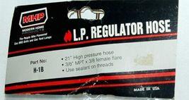 MHP H1B Replacement High Pressure Regulator Hose Color Black image 3