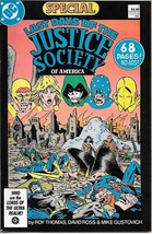 Last days of the Justice Society Special Comic Book #1 DC 1986 NEAR MINT... - $11.64