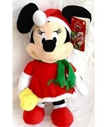 """Disney """"Deck the Halls"""" Animated Minnie Mouse Side Stepper 13"""" Sings Dances - $29.99"""
