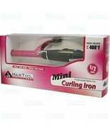 J2 Hair Tool Small Compact Mini Travel Curling Iron Wand 1/2 inch Pink #... - $14.74