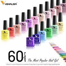 #61508 Nail Factory Supply New Venalisa Nail Art Design 60 Color Soak Of... - $3.36