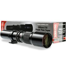 Opteka 500mm f/8 Telephoto Lens For Sony E NEX-F3 NEX-5R NEX-6 NEX-3N NEX-5T α7 - $79.95