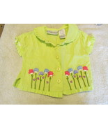 First Impressions Embroidered Shirt 3-6 Months - $4.99