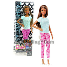 "2014 Barbie Fashionistas 12"" Doll NIKKI Pants So Pink (CLN65) in Blue T... - $34.99"