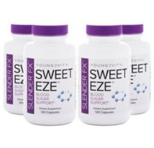 Youngevity Sirius Slender FX Sweet EZE 120 capsules 4x Dr. Wallach Free ... - $96.70
