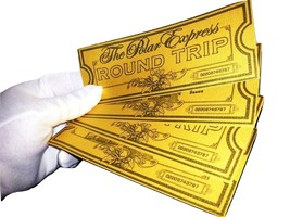 Polar Express Ticket Believe Ticket Great Christmas Gift Please See Desc... - $14.73