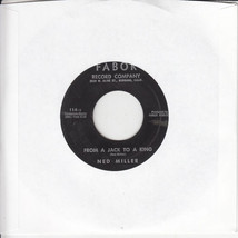 Ned Miller From A Jack To A King b/w Parade Of Broken Hearts 45-rpm Record - $7.99