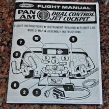 1969 Remco 747 Pan Am Dual Control Jet Cockpit Flight Manual (COPY) - $6.93