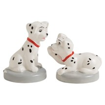Walt Disney 101 Dalmatians Movie Puppies Ceramic Salt and Pepper Shaker Set NEW - $22.24