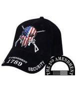 2nd Amendment, 100% Cotton Baseball Cap - $18.99