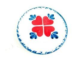 Vintage Chaparell Pottery USA Round Ceramic Hot Plate - $19.79