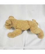 "15"" RUSS Berrie & Co Russplus Plush Dog Puppy Brown Tan Jingle Tail - $23.75"