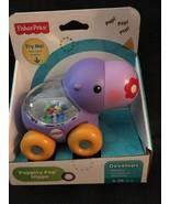 Fisher-Price Poppity Pop Hippo Baby Toy Develops Sensory Curiosity & Dis... - $19.79