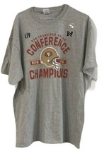 San Francisco 49ers Conference Champions 2019 T Shirt Mens X-Large 100% ... - $21.77