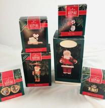 Lot of 6 Hallmark Keepsake Christmas Ornaments Collectors club - $24.75