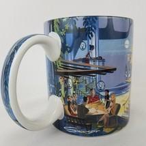 Hawaiian Mid-Century Modern Coffee Cup Mug by Mark Swanson Tiki Hip Cool - $74.25