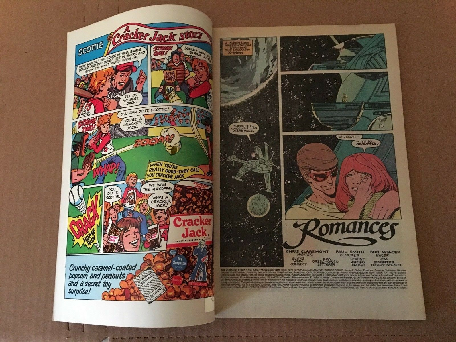 Uncanny X-Men #174 Marvel Comic Book from 1982 VF Condition PHOENIX