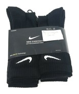 Nike Everyday Cotton Cushioned Athletic Crew Socks Dry-Fit Mens Womens 6... - $27.72