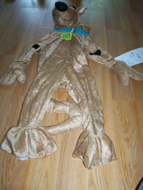 Toddler Size 2-4T Scooby Doo Puppy Dog Plush Halloween Costume Jumpsuit ... - $45.00