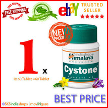 1x Himalaya Herbal Cystone 60 Tablets EXPIRY OCT2022 - $5.85