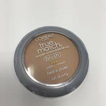 L'oreal True Match Blush, Bare Honey Warm W1-2, Brush & Mirror  NEW - $7.70