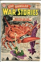 STAR SPANGLED WAR STORIES #107-1963-DC-DINOSAURS-SUBMARINE-vg - $44.14