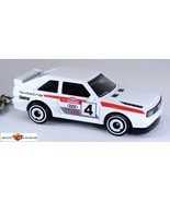 RARE KEY CHAIN WHITE AUDI QUATRO COUPE SPORT TURBO 4X4 S2 CUSTOM LIMITED... - $34.98