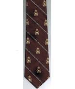 Royal Canadian Legion Necktie Brown Gold Watson - $18.99