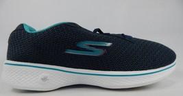 Skechers Go Walk 4 Glorify Size US 6.5 M (B) EU 36.5 Women's Walking Shoes Blue