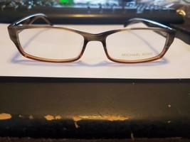 New Michael Kors Mk 616 221 Olive Plastic Eyeglass Frame Size 53-16-140 Perfect - $58.41