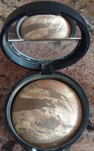 Laura Geller BALANCE N BRIGHTEN Baked Correcting Foundation Makeup DEEP ... - $14.22