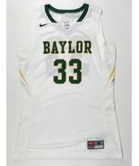 Nike Women's Medium Baylor Hyperelite DQT Basketball Jersey #33 White 68... - $14.84