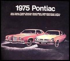 1975 Pontiac ORIGINAL Brochure- Firebird! 75 GM - $9.88