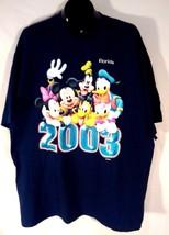 Walt Disney Xxl T-SHIRT Mickey Mouse Mini Mouse Goofy Pluto Donald Duck Daffy - $24.99