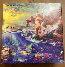 Thomas Kinkade Disney The Little Mermaid Jigsaw Puzzle 750 Piece - $24.75