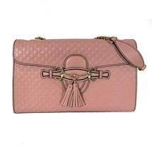 NEW GUCCI Emily Medium Microguccissima Leather Shoulder Bag - $1,152.00