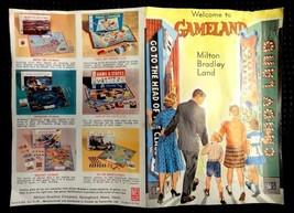 1965 vintage MILTON BRADLEY GAMELAND GAME PAPER CATALOG/flyer - $14.95