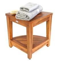 Ala Teak Indoor Outdoor Patio Garden Yard Bath Corner Shower Waterproof ... - £76.08 GBP
