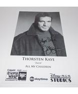 Thorsten Kaye Autograph Reprint Photo 9x6 All My Children 2005 Bold Beau... - $9.99