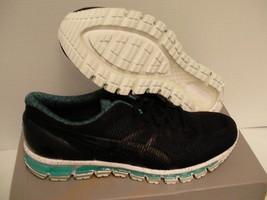 Asics Men's Gel-Quantum 360 CM Black/Black/Island Blue Running Shoe 11.5... - $98.95