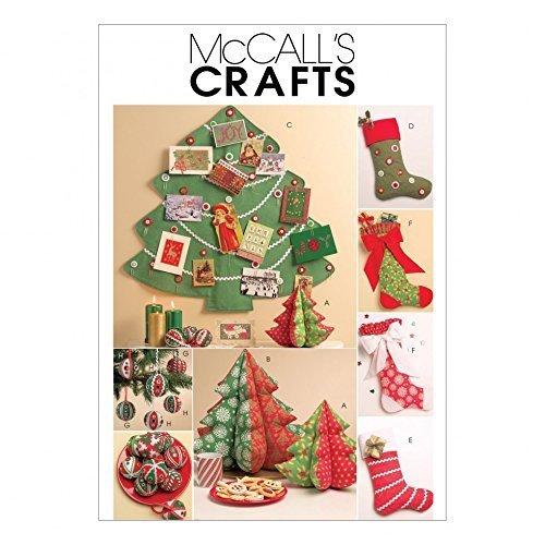 McCalls Sewing Pattern 5778 Crafts for Christmas Sizes: One Size by McCall's - $14.21