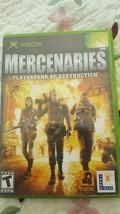Mercenaries: Playground of Destruction (Microsoft Xbox, 2005) - $6.92