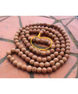 108 Beads (13mm) Bodhi Seed Natural Tibetan Prayer Mala, Nepal - $143.55