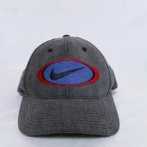 VTG Nike Strapback Hat 90s Big Logo Cap Jordan Golf Agassi Air Denim Cha... - $69.99