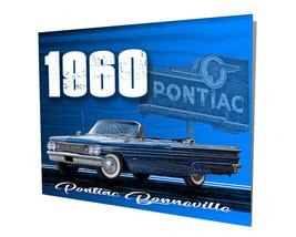 1960 Pontiac Bonneville Coupe Convertible Design 16x20 Aluminum Wall Art - $59.35