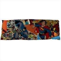 dakimakura body hugging pillow case superman batman comics geek nerd cover daki - $36.00