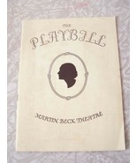 The Playbill Martin Beck Theatre Basile Rathbone Margillo Gillmore Charl... - $19.99