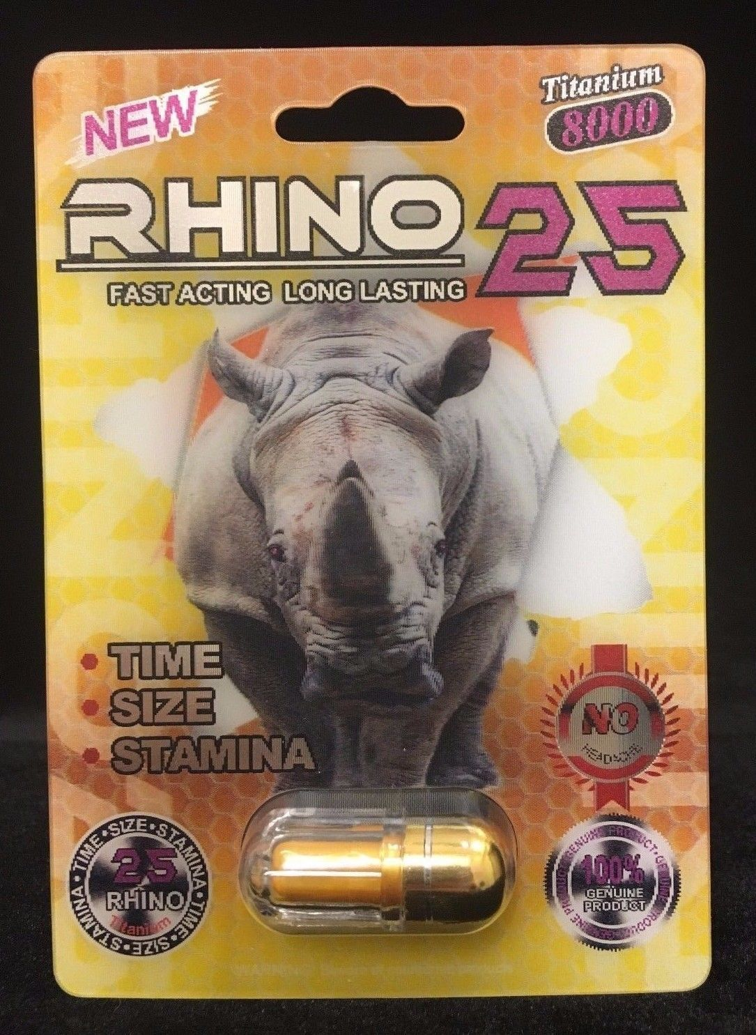 Rhino 25 front